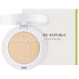 Пудра двойного действия Nature Republic Provence Creamy Two Way Pact