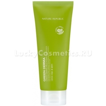 Пенка для умывания Nature Republic Green Derma Mild Foam Cleanser