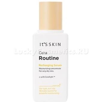 Увлажняющая сыворотка для сухой кожи лица It's Skin Cera Routine Recharging Serum
