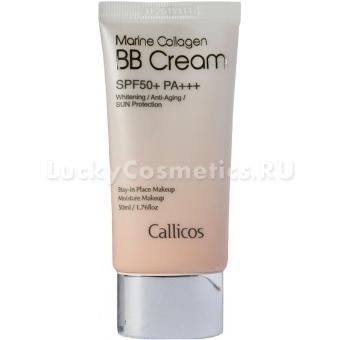 Осветляющий ВВ-крем с морским коллагеном Callicos Marine Collagen BB Cream SPF50+ PA+++