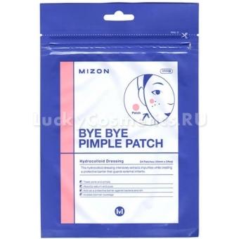 Противовоспалительные локальные патчи Mizon Bye Bye Pimple Patch