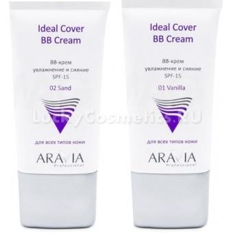 Увлажняющий ВВ-крем с солнцезащитным фактором Aravia Professional Ideal Cover BB-Cream SPF 15