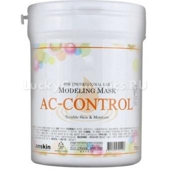 Альгинатная маска против акне Anskin AC Control Modeling Mask  / container