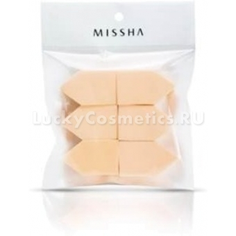 Набор спонжей из латекса Missha House Latex Puff 6P