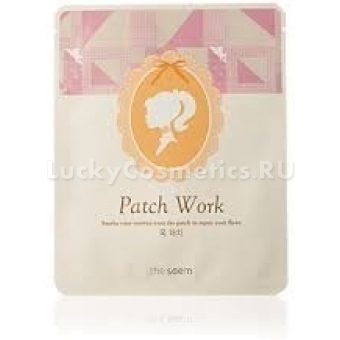 Антивозрастная маска для шеи The Saem Patch Work Neck