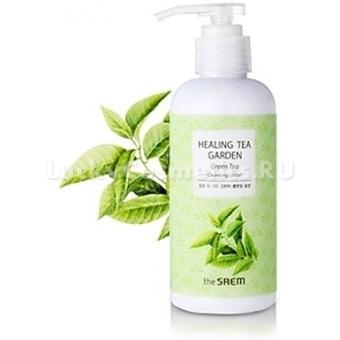 Фитолосьон на экстракте зеленого чая The Saem Healing Tea Garden Green Tea Cleansing Lotion