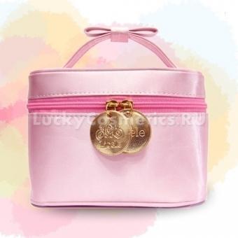 Розовая косметичка Lioele Pink Makeup Pounch