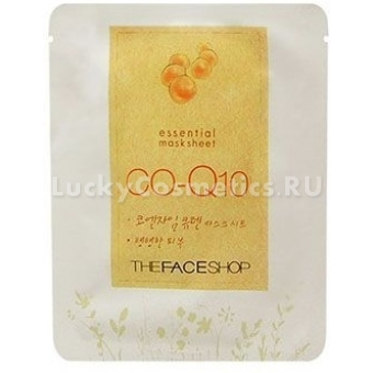 Маска для лица The Face Shop Essential Mask Sheet CO-Q10 Mask