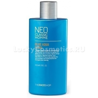 Флюид после бритья The Face Shop Neo Classic Homme Blue Aqua Fluid