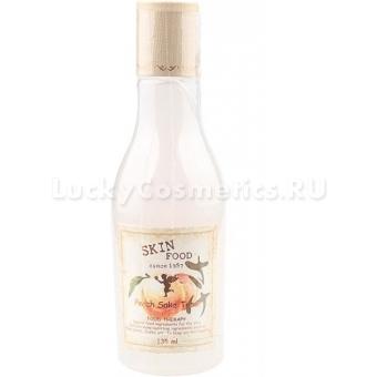 Персиковый тонер для лица SkinFood Peach Sake Toner