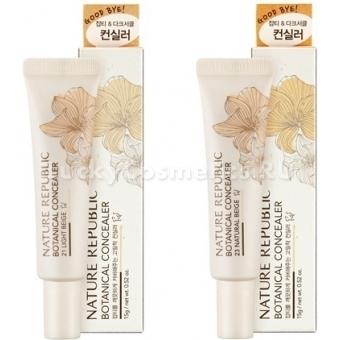 Маскирующий консилер Nature Republic Botanical Cream Concealer