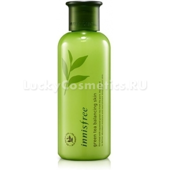 Тоник для лица Innisfree Green Tea Balancing Skin