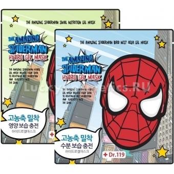 Гидрогелевая маска для лица Baviphat Dr.119 The Amazing Spiderman Aqua Gel Mask