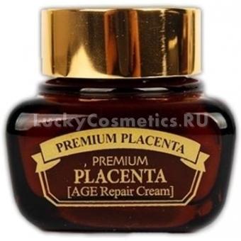 Регенерирующий крем для лица с плацентой 3W Clinic Premium Placenta Age Repair Cream