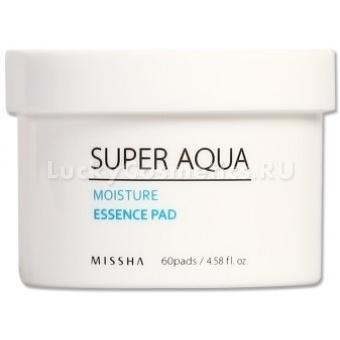 Питательные диски Missha Super Aqua Moisture Essence Pad