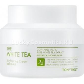 Крем для яркости тона кожи Tony Moly The White Tea Brightening Cream