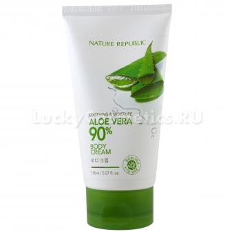 Крем для тела с алоэ вера Nature Republic Soothing And Moisture Aloe Vera Body Cream