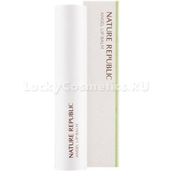 Оттеночный бальзам-уход для губ Nature Republic Moist Angel Lip Balm