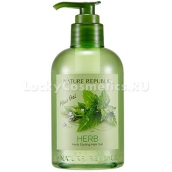 Гель для укладки волос Nature Republic Herb Styling Hair Gel