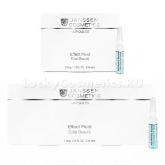 Реструктурирующая сыворотка Janssen Cosmetics Anti-Wrinkle Booster Effect Fluid Ampoules