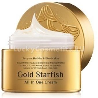 Крем с морской звездой и золотом Mizon Gold starfish all in one cream 50 ml