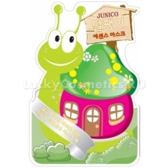 Листовая маска улиточная Mijin Cosmetics Junico Snail Essence Mask