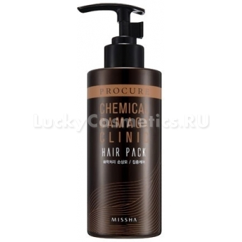Маска для поврежденных волос Missha Procure Chemical - Damage  Clinic Hair Pack