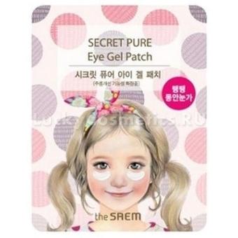 Антивозрастная гелевая маска для области вокруг глаз The Saem Secret Pure Eye Gel Patch