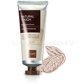 Увлажняющий крем для рук с какао The Saem Natural Touch Cacao Hand Cream