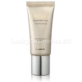 ББ крем на основе муцина улитки The Saem Snail Essential B.B Cream