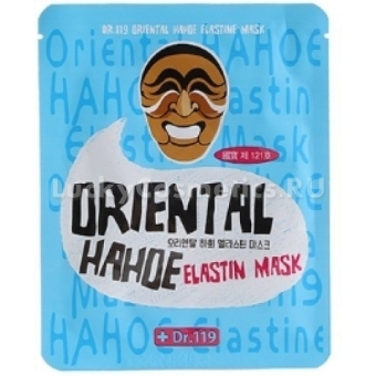 Тканевая маска с эластином Baviphat Dr.119 Oriental Hahoe Elastin Mask