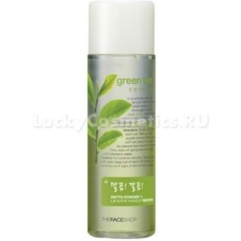 Средство для демакияжа Phyto Powder In Lip and Eye Makeup Remover Green Tea