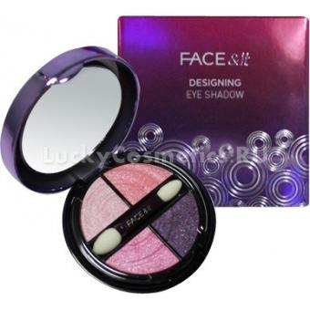 Тени для век The Face Shop Face It Designing Eye Shadow