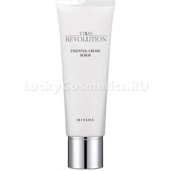 Крем-скраб для лица Missha Time Revolution Essential Cream Scrub