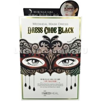 Тканевая маска Mediheal Mask Dress Code_Black