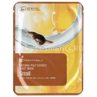Тканевая маска Tony Moly Essence Sheet Mask-Snail Skin Damage Care