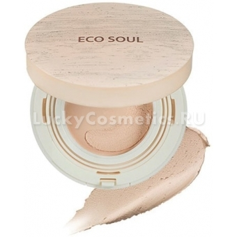 Тональная мусс-основа The Saem Eco Soul Mousse Foundation SPF44 PA++