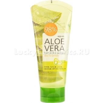 Универсальный гель Welcos Aloe Vera Moisture Real Soothing Gel