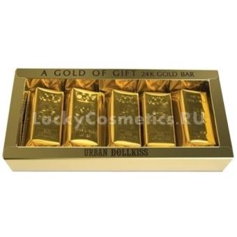Набор мыла с золотом Baviphat Urban Dollkiss Agamemnon 24K Gold Bar Set