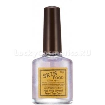 Топовое покрытие для ногтей Skinfood Nail Vita Crystal Pearl Top Coat