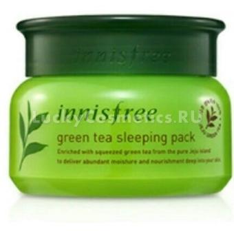 Ночная маска Innisfree Green Tea Sleeping Pack