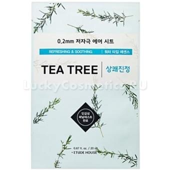 Тканевая маска для лица с экстрактом чайного дерева Etude House 0.2 Therapy Air Mask Tea Tree