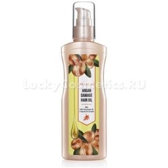 Аргановое масло для поврежденных волос Welcos Around Me Argan Damage Hair Oil