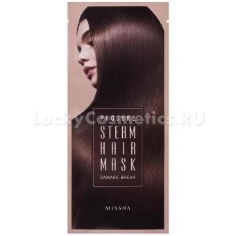Маска для волос паровая Missha Procure Damage Break Steam Hair Mask