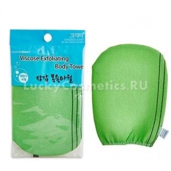 Мочалка – перчатка для душа Sungbo Cleamy Viscose Glove Bath Towel