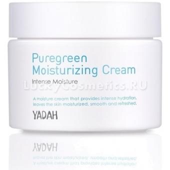 Крем для лица увлажняющий Yadah Pure Green Moisturizing Cream