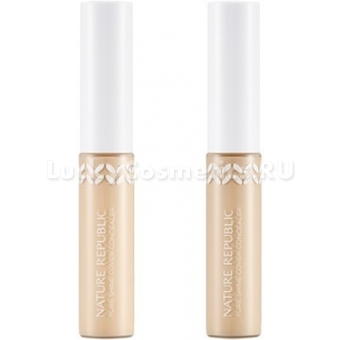 Консилер для маскировки Nature Republic Pure Shine Cover Concealer
