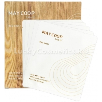 Омолаживающая тканевая маска с кленовым соком May Coop Raw Sheet Mask