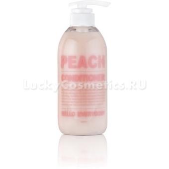 Кондиционер с экстрактом персика и коллагеном Hello Everybody Peach Conditioner