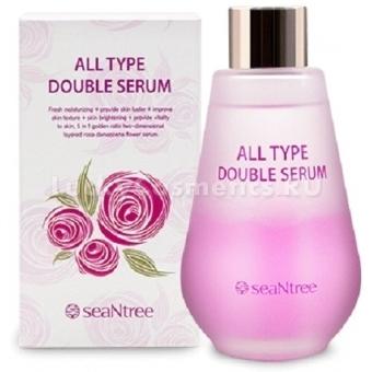 Двухфазная увлажняющая сыворотка для всех типов кожи SeaNtree All Type Double Serum